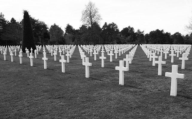 Soldatenfriedhof  Colleville I - Frankreich