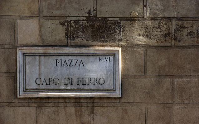 Roms Straßenschilder