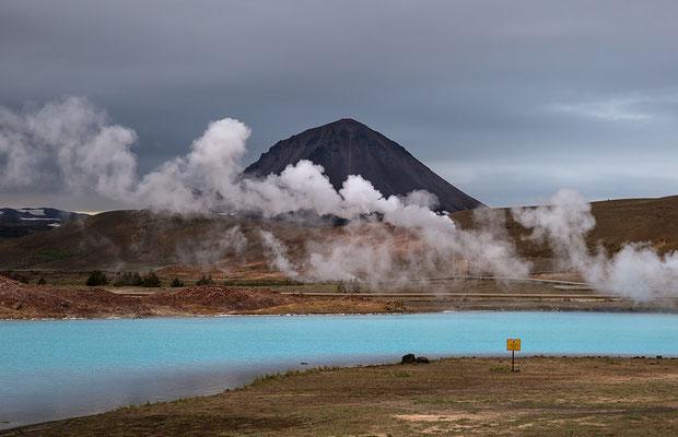 Geothermie bei Reykjahlid am Myvatn