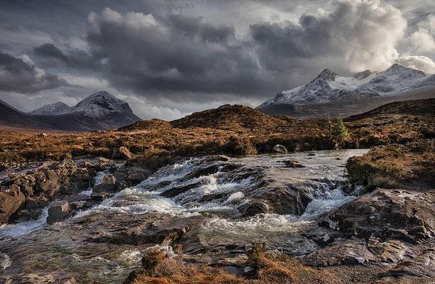 Sligachan Waterfall, Skye