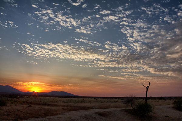 Der letzte Morgen in Namibia