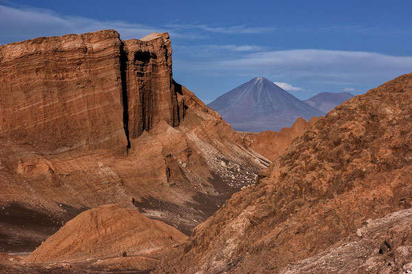 Valle de Luna und der Licancabur