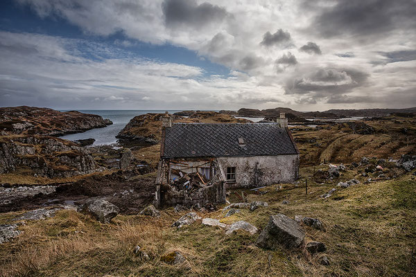 Abandoned House, Lingerbay, Golden Road, Harris
