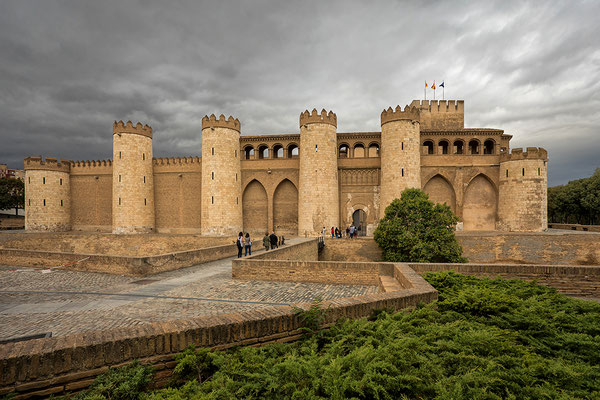 Saragossa : La Aljaferia