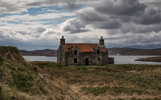 Aufgegebenes Crofthouse, Calanish, Isle of Lewis