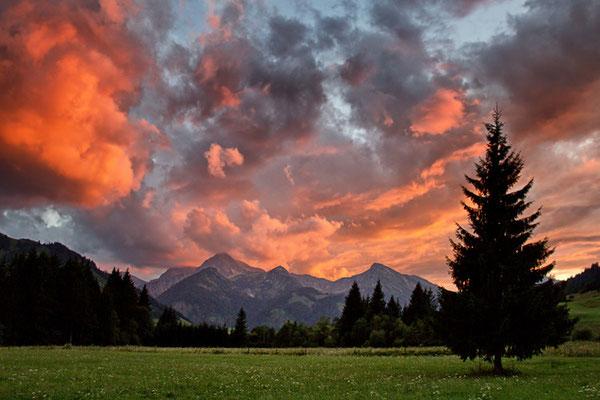 Das Tannheimer Tal bei Grän 5