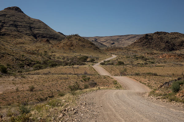 Straße zum Reemhoogtepass