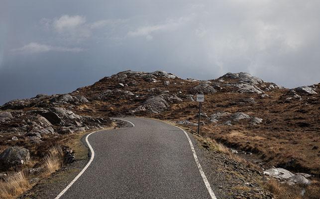 Golden Road, Ostküste der Isle of Harris