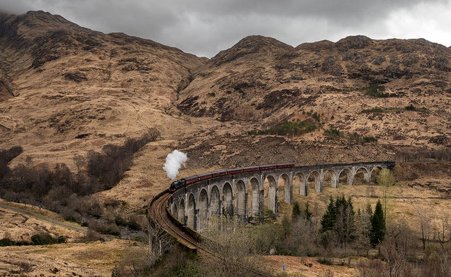 "Glenfinnan Viadukt, ""The Jacobite"""