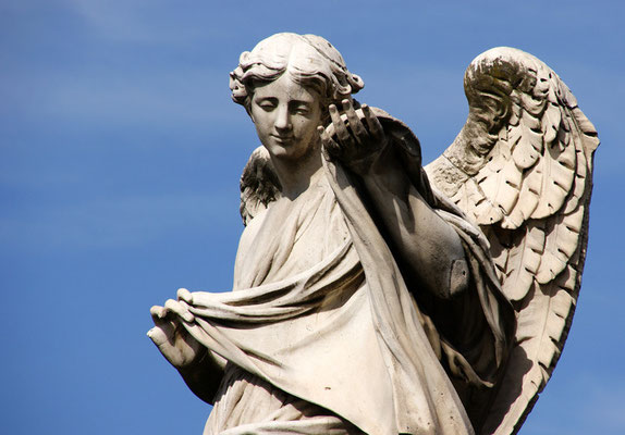 Ein Engel der Engelsbrücke