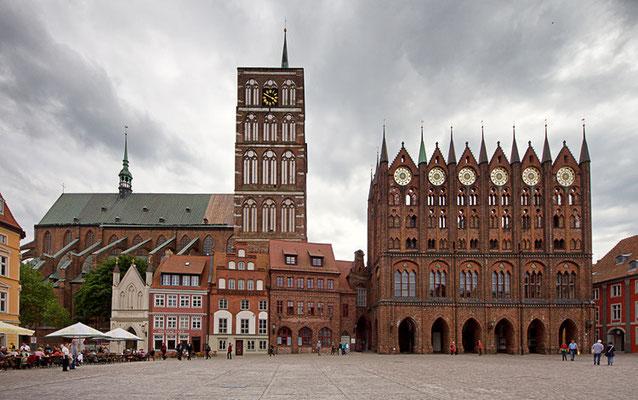 Alter Markt, Rathaus Stralsund
