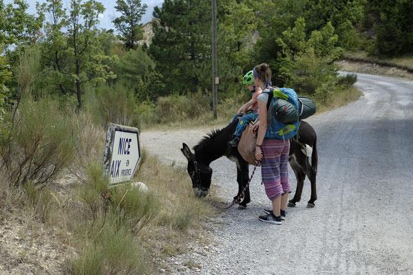 Nach Aix oder nach Nizza? Fun Fact: Nizza ist von dort aus ca. 300 km entfernt.