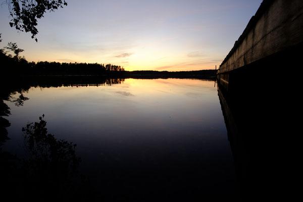 Noch ein wunderschöner Sonnenuntergang
