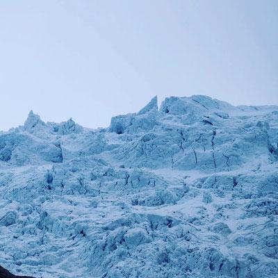 Vor allem der Jostalsbreen-Gletscher war sehr beeindruckend