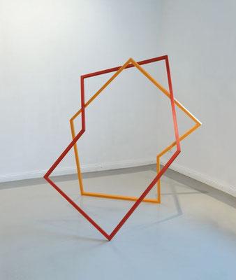 """Aedikula"", 2013, 164 x 140 x 115 cm, Holz, Acryllack"