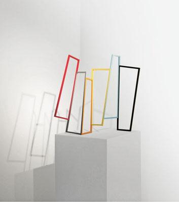 """Leporello"", 2014, 64 x 62 x 14 cm, Holz, Acryllack"