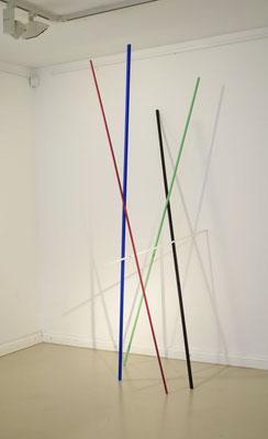 """""""Parallels"""", 2014, 222 x 76 x 105 cm"""