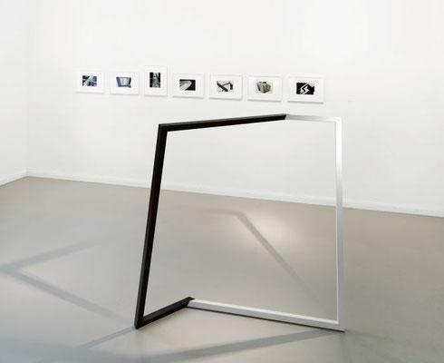 """Antae"", 2013, 134 x 125 x 74cm, Holz, Acryllack"