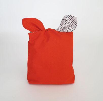 Poche à lingerie rectangle Orange.