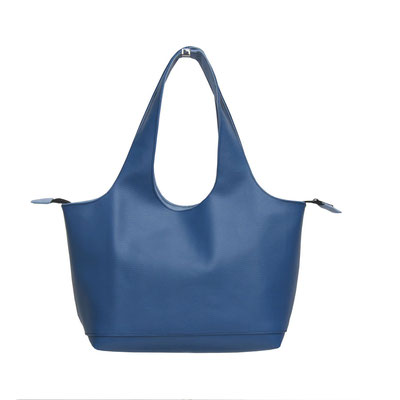 Shopper Pm Skaï Bleu