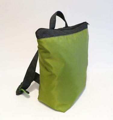 Sacados Light tissu nylon vert anis 3/4 face