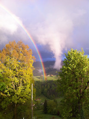 herrlicher Regenbogen