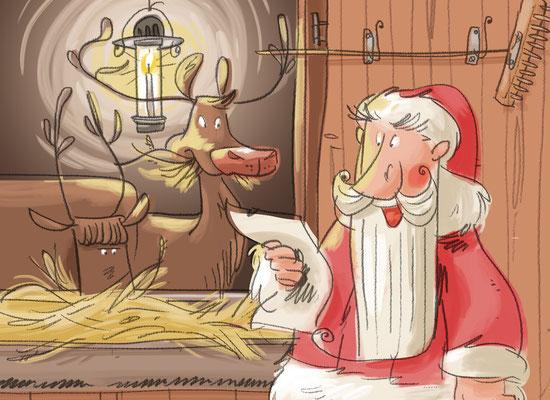 Osterhase und Nikolaus | Herder Verlag 2015 | Tags: Weihnachtsmann, Nikolaus, Osterhase, Rentiere
