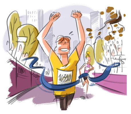 New York By Rail Magazine | 2019 | Tags: Illustration, Party, Hot Spots, New York Marathon