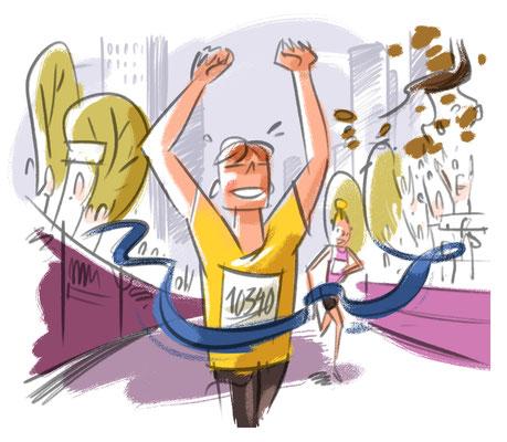 New York By Rail Magazine | 2019 | Tags: Illustration, Party, Hot Spots, New York Marathon
