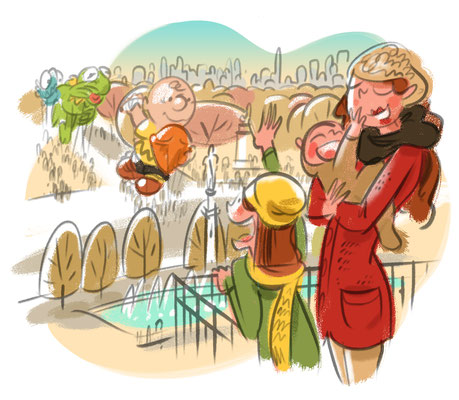 New York By Rail Magazine | 2019 | Tags: Illustration, Party, Hot Spots, Macy's Thanksgiving Day Parade