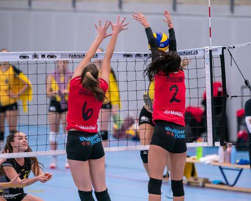 Impressionen aus dem Spiel VBC Therwil - VBC Visp vom 19.10.2019 (3:1, Fotos: Heinz Schmid / HESCphoto.ch)