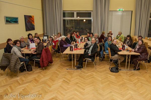 Treffen am 01.12.2015 im Kurt Schedler Zentrum - Siedlung Maria Theresia