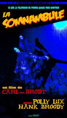 La Somnambule (1965); Regie: Carl von Brodt; Farbe; Tonfilm; Frankreich; Genre: Psychothriller; 95 Min. - Faksimile (Digital print); 62,45 x 35,45 cm; 2019