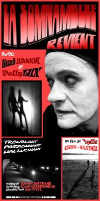 La Somnambule revient (1967); Regie: Lydia Gluck-Sander; schwarz-weiß; Tonfilm; Frankreich; Genre: Nouvelle Vague/Psychothriller; 106 Min. - Faksimile (Digital print); 62,45 x 31,24 cm; 2019