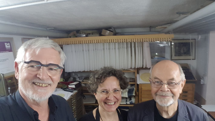 Willi Beck, Jana Madle-Elmerhaus und Rudolf Paulus Gorbach