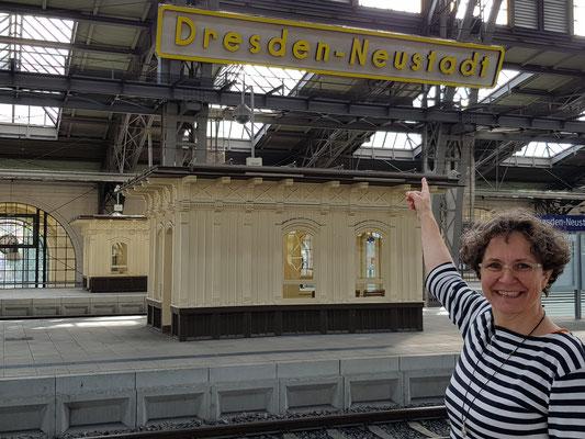 Jana auf TypoWalz in Dresden