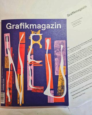 Grafikmagazin, Erstausgabe 2021