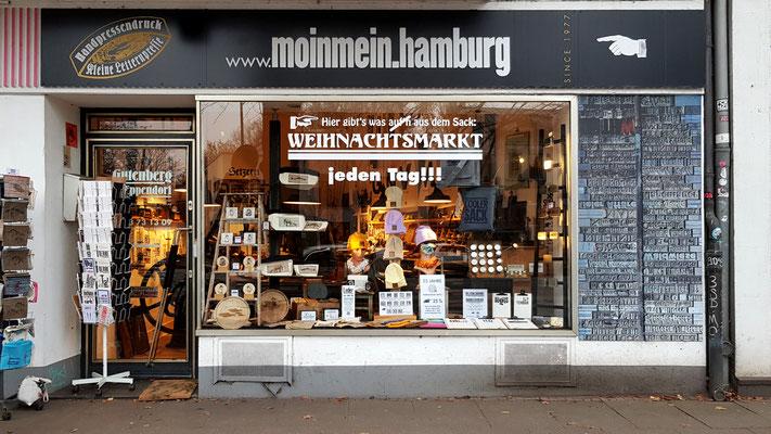 Die Kleine Letternpresse in Hamburg Eppendorf