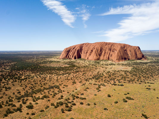 Uluru, der heilige Berg, Australien