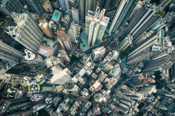 Hong Kong von oben