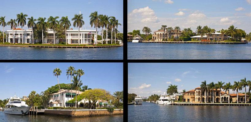 Bildband Florida, USA, Raimund Franken, Luxus-Anwesen in Fort Lauderdale