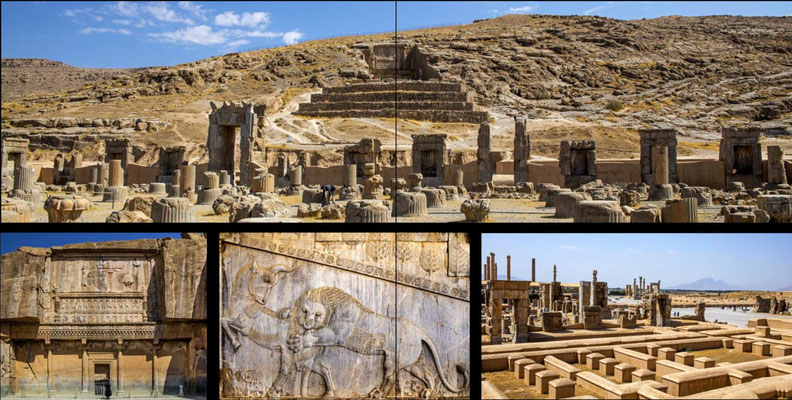 Bildband Iran, Reisefuehrer, travel guide, Reisebildband, Raimund Franken, Persepolis