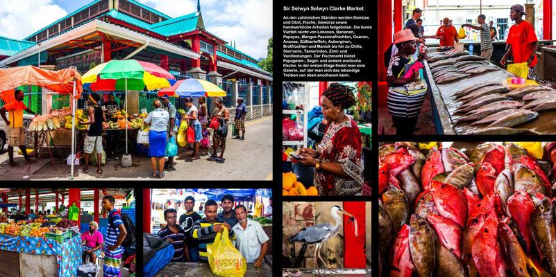 Bildband Seychellen, Raimund Franken, Victoria auf Mahe - Hauptstadt des Landes