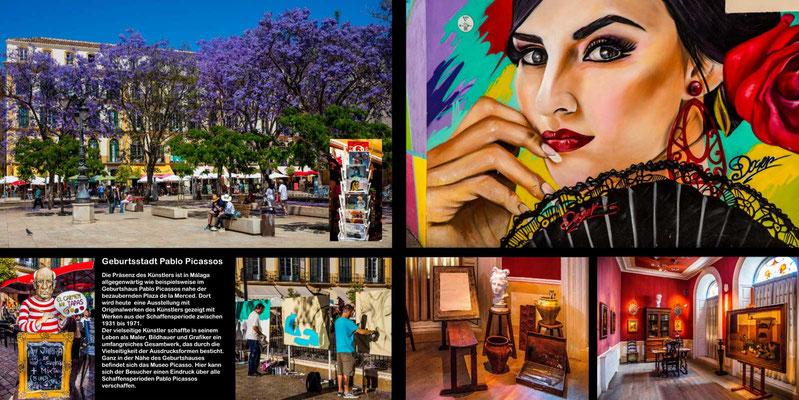 Bildband Andalusien, Raimund Franken, Picasso-Stadt Malaga