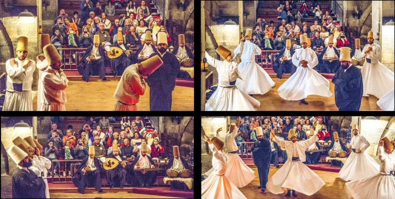 Bildband Tuerkei, Reisefuehrer, travel guide, Raimund Franken, Tanz der Derwische in der Kawaranserei Sarihan