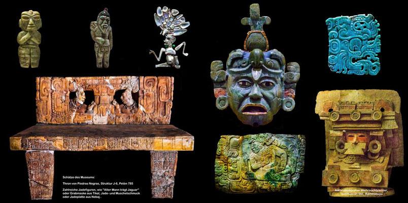 Bildband Guatemala, Reisefuehrer, Reisebildband, Raimund Franken, Museumsschaetze der Maya