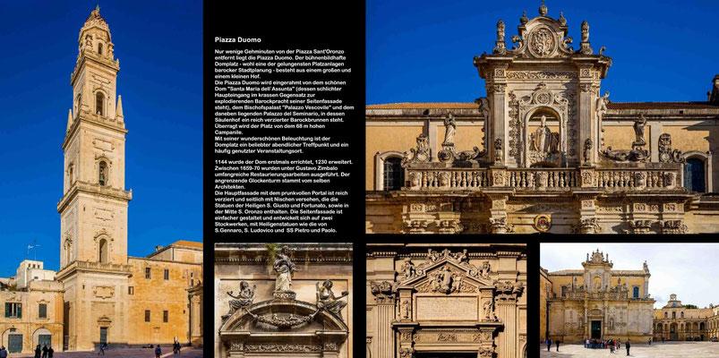 Bildband Apulien, Italien, Raimund Franken, Barockstadt Lecce