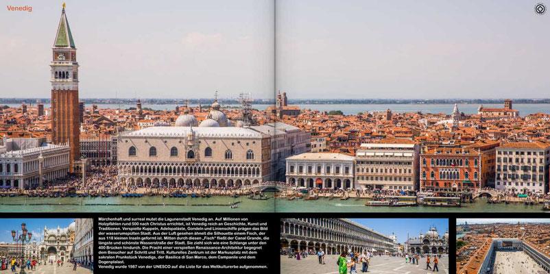 Venedig - Reise-Bildband Tessin, Lombardei, Venetien durch die Schweiz und Oberitalien - vom Gotthardpass nach Venedig