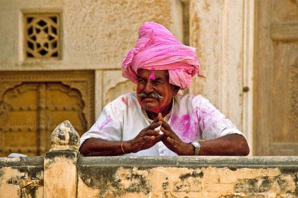 Bildband, Rajasthan, Indien, Goldenes Dreieck, Reisefuehrer, travel guide, Foto, Raimund Franken, Holi Fest