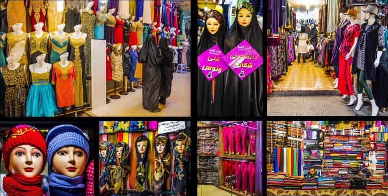 Bildband Iran, Raimund Franken, Basar von Isfahan